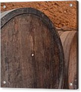 Wine Barrel Acrylic Print