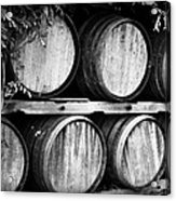 Wine Barrels Acrylic Print by Scott Pellegrin