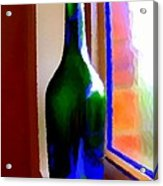 Wine Bottle Acrylic Print