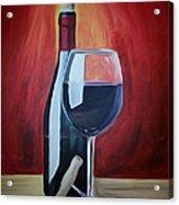 Wine Bottle Acrylic Print