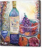 Wine Bottle Selection  Acrylic Print by Anais DelaVega
