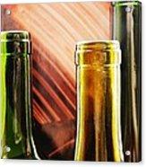 Wine Bottles 2 Acrylic Print