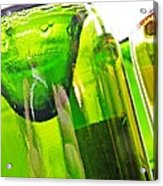 Wine Bottles 5 Acrylic Print by Sarah Loft