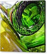 Wine Bottles 6 Acrylic Print by Sarah Loft
