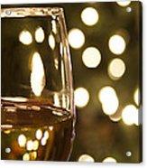 Wine By The Lights Acrylic Print