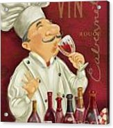 Wine Chef I Acrylic Print