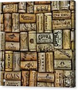 Wine Corks After The Wine Tasting Acrylic Print by Paul Ward