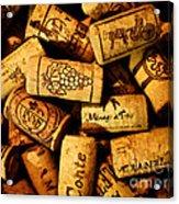 Wine Corks - Art Version Acrylic Print