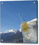 Wine Cube Acrylic Print
