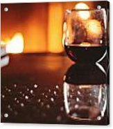Wine For One Acrylic Print