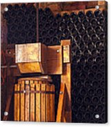Wine Press Acrylic Print