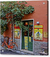 Wine Shop Monterosso Italy Dsc02584  Acrylic Print