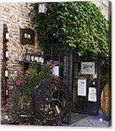 Wine Shop Acrylic Print