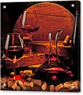 Wine Still Life Acrylic Print