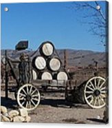 Wine Wagon Acrylic Print
