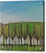 Wineglass Treeline Acrylic Print