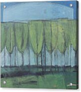 Wineglass Trees Acrylic Print