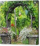 Winery In Victoria Bc Acrylic Print