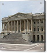 Wing Of The Capitol - Washington Dc  Acrylic Print