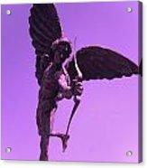 Winged Archer Eros Acrylic Print