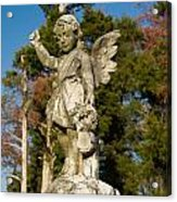 Winged Girl 8 Acrylic Print