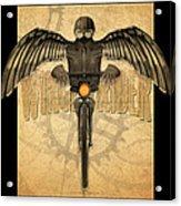 Winged Rider Acrylic Print