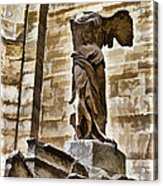 Winged Victory - Louvre Acrylic Print