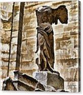 Winged Victory - Louvre Acrylic Print by Jon Berghoff
