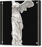 Winged Victory - Nike Of Samothrace Acrylic Print by Jerrett Dornbusch