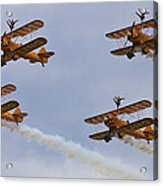 Wingwalkers  Perfect Sync Acrylic Print