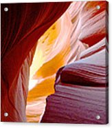 Wink In Lower Antelope Canyon In Page-arizona Acrylic Print