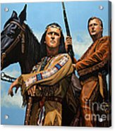Winnetou And Old Shatterhand Acrylic Print
