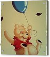 Winnie The Pooh Acrylic Print