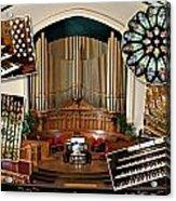 Winnipeg Church Montage Acrylic Print