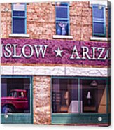 Winslow Arizona 2 Acrylic Print