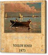 Winslow Homer 1 Acrylic Print