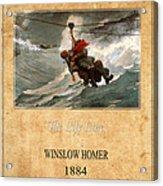 Winslow Homer 3 Acrylic Print