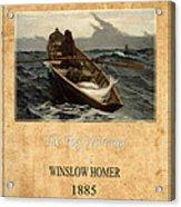 Winslow Homer 4 Acrylic Print