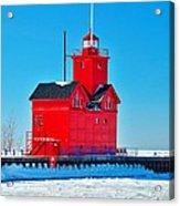 Winter At Big Red Acrylic Print
