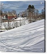 Winter At Gmha Acrylic Print
