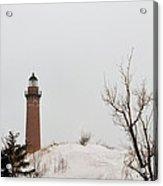 Winter At Silver Lake Acrylic Print