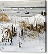 Winter At The Beach 2 Acrylic Print