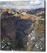 Winter At The Grand Canyon Acrylic Print