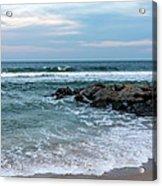 Winter Beach Lavallette New Jersey  Acrylic Print