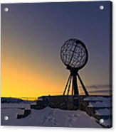 Winter Beyond The Arctic Circle Acrylic Print by Ulrich Schade