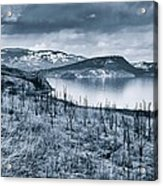 Winter Blues Acrylic Print by Rod Sterling