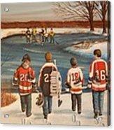 Winter Classic - 2010 Acrylic Print