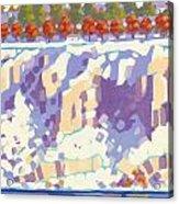 Winter Cliffs Acrylic Print