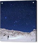 Winter Constellations Acrylic Print