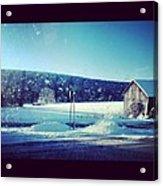 Winter days Acrylic Print